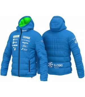 Colmar Replica Quilted Hoodie Mens Ski Jacket China Blue bunda