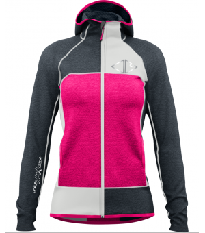 Crazy Idea Ionic W Pull pink mikina