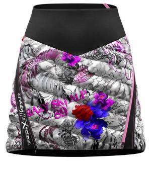 Crazy Idea Alpinstar 3D W Skirt print tattoo sukňa