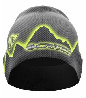 Crazy Idea Spire Thermo M Cap black čiapka
