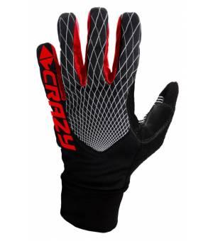 Crazy Idea Sci Alp Race Gloves red rukavice