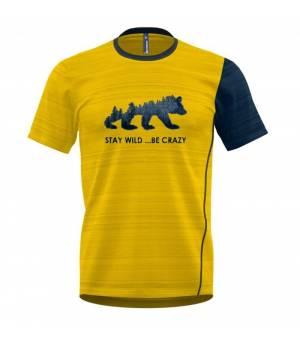 Crazy Idea Gulp M T-Shirt sulphur tričko