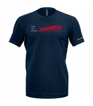 Crazy Idea Joker M T-Shirt blue tričko