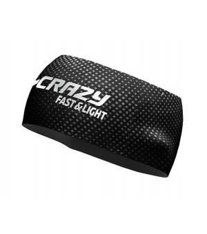 Crazy Idea Sharp Cut Band black čelenka
