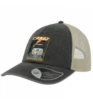 Crazy Idea Cap Bro black šiltovka
