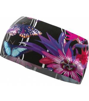 Crazy Idea Crazy Band Sharp butterfly/black čelenka