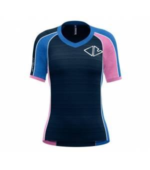 Crazy Idea Ionic W T-Shirt blossom-bluette tričko