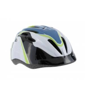 Cytec Yangsta cyklistická prilba jr modrá/zelená