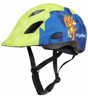 CYTEC Yangsta 2.10 cyklistická prilba JR zelená