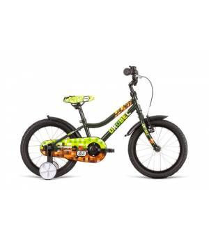 """Dema Drobec 16"""" Olive Detský Bicykel 2020 Zelený"""