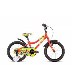 """Dema Drobec 16"""" Red Detský Bicykel 2020 Červený"""