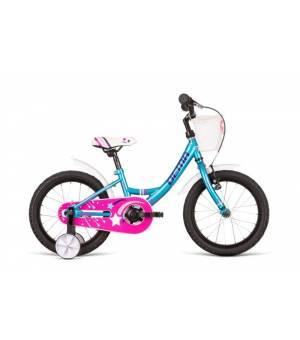 "Dema Ella 16"" Turquise Detský Bicykel 2020 Tyrkysový"