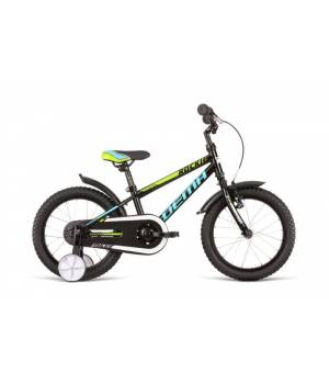 "Dema Rockie 16"" Black-Blue Detský Bicykel 2020 Čierny"