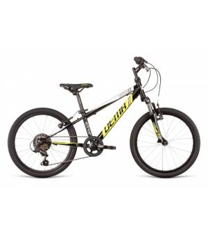 "Dema Rockie 20"" SF Black-Yellow Juniorský Bicykel 2020 Čierny"