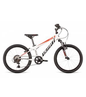 "Dema Rockie 20"" SF White-Red Juniorský Bicykel 2020 Biely"