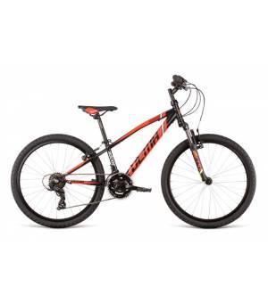 """Dema Rockie 24"""" SF Black-Red Juniorský Bicykel 2020 Červený"""