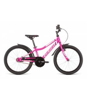 "Dema Vega 20"" 6 sp Magenta-Grey Juniorský Bicykel 2020 Ružový"