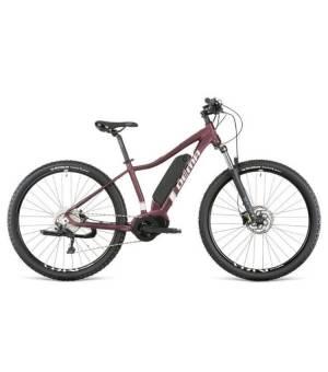 "Dema Omega 29"" elektrobicykel 17"" Bordo/Pink"