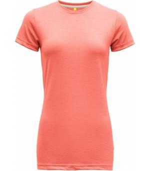 Devold Eika W Tee coral tričko