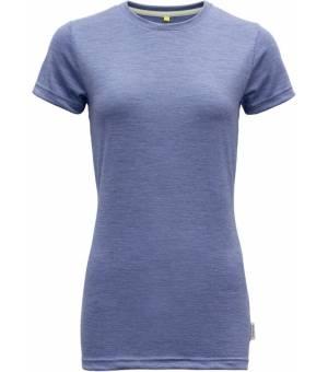 Devold Eika W Tee bluebell melange tričko