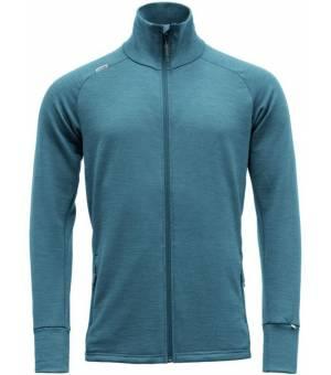 Devold Nibba M Jacket blue melange mikina
