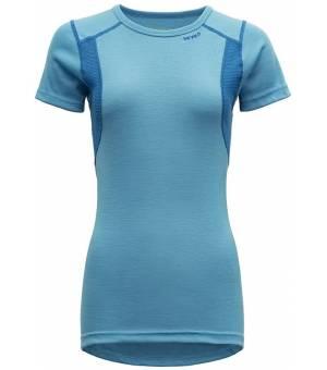 Devold Hiking W T-Shirt malibu/skydiver tričko