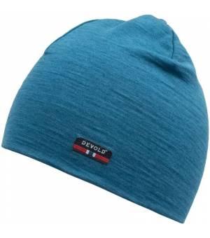 Devold Breeze Cap blue melange čiapka