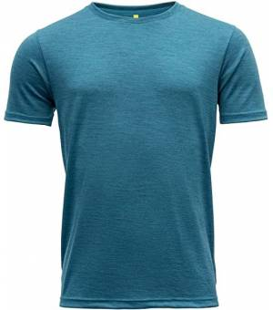 Devold Eika M Tee blue melange tričko