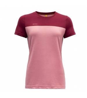 Devold Norang W T-Shirt foxglove/beetroot tričko