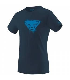 Dynafit Graphic Cotton M T-shirt Midnight Navy/Stencil tričko
