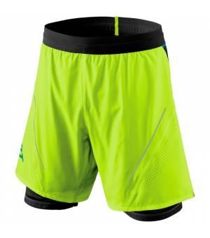 Dynafit Alpine Pro 2in1 M Shorts fluo yellow kraťasy
