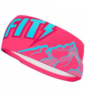 Dynafit Graphic Performance Headband Fluo Pink čelenka