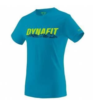 Dynafit Graphic Cotton M T-shirt blue jay/skyline tričko