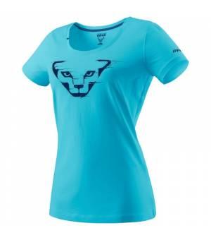 Dynafit Graphic Cotton W T-Shirt silvretta/grunge tričko