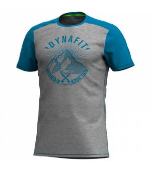 Dynafit Transalper Light M T-Shirt mykonos blue/since 1950 tričko