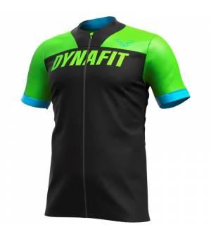 Dynafit Ride Full Zip M T-Shirt lambo green tričko