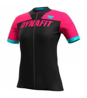 Dynafit Ride Full Zip W T-Shirt lipstick tričko