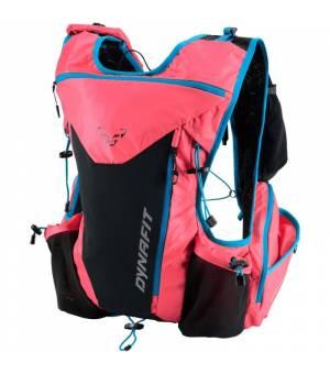 Dynafit Enduro 12l Backpack fluo pink/methyl blue