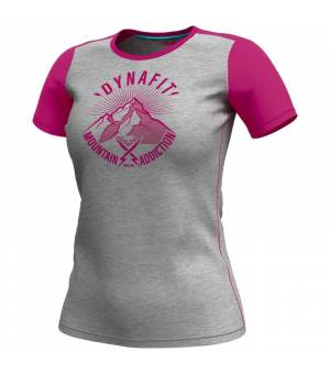Dynafit Transalper Light W T-Shirt lipstick/since 1950 tričko