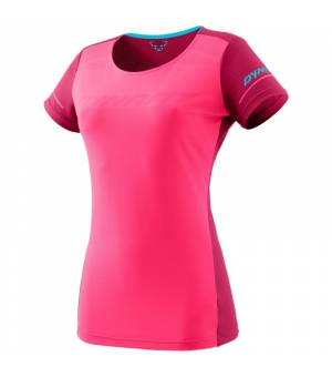 Dynafit Alpine W T-Shirt fluo pink tričko