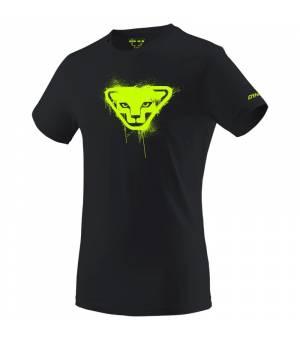 Dynafit Graphic Cotton M T-shirt black out/stencil tričko
