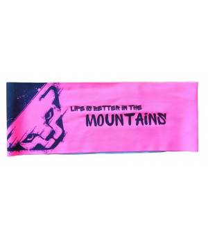 Dynafit Performance 3 Dry Promo Headband fluo pink čelenka