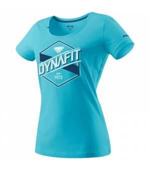 Dynafit Graphic Cotton W T-Shirt silvretta/label tričko