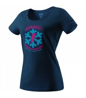 Dynafit Graphic Cotton W T-Shirt poseidon/syndicate tričko