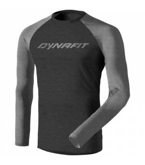 Dynafit 24/7 M Longsleeve quiet shade melange tričko