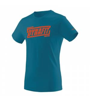 Dynafit Graphic Cotton M T-shirt reef/tabloid tričko