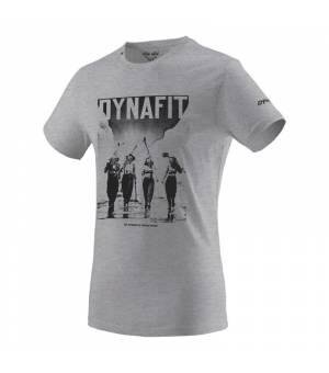 Dynafit Heritage Cotton M T-Shirt nimbus melange/girls tričko