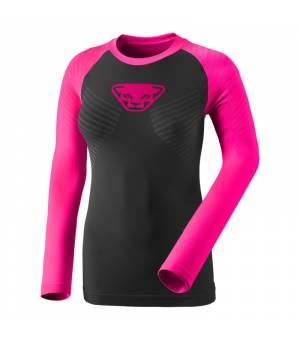 Dynafit Speed Dryarn W Longsleeve pink glo tričko