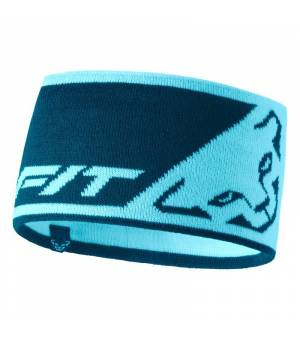 Dynafit Leopard Logo Headband silvretta čelenka