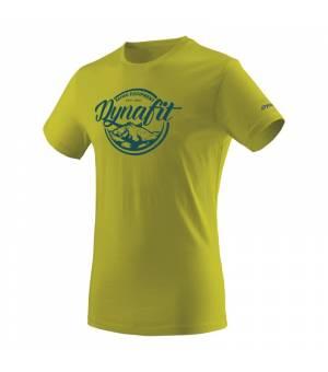 Dynafit Graphic Cotton M T-shirt moss/classic tričko